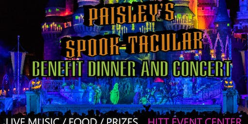Paisley's Spook-tacular Benefit Dinner and Concert