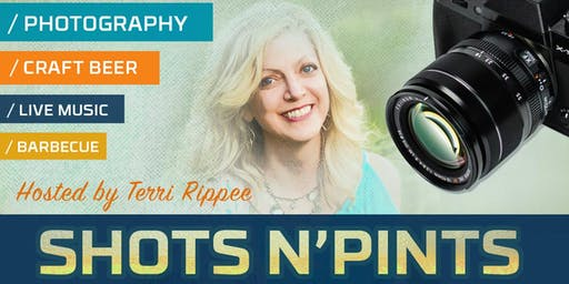 Shots N'Pints With Terri Rippee Photography, Music By Jazzmine Farol, & BBQ by Screaming Petes at Ebullition Brew Works