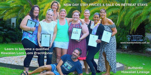 Traditional Old Style Hawaiian Lomi Lomi Massage Lvl 1 Training- Day ticket