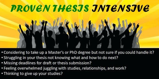PROVEN THESIS INTENSIVE