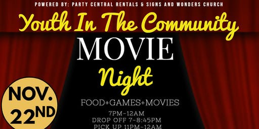 Youth In The Community Movie Night