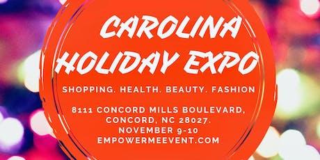 Carolina Holiday Expo tickets