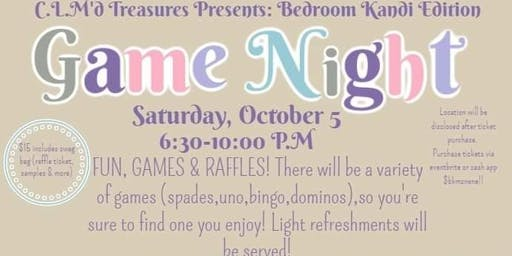 Game night- Adults night out(IN)