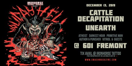 Holiday Hell Fest with Cattle Decapitation & Unearth tickets