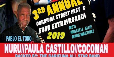 Garifuna Street Fest & Food Extravaganza 2019 tickets