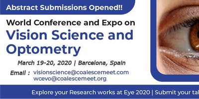 World Conference and Expo on Vision Science and Optometry