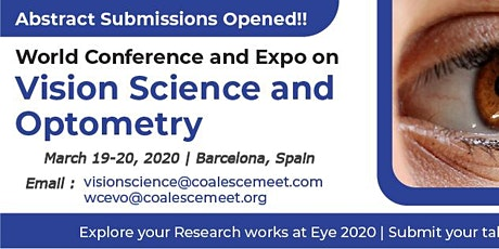 World Conference and Expo on Vision Science and Optometry tickets