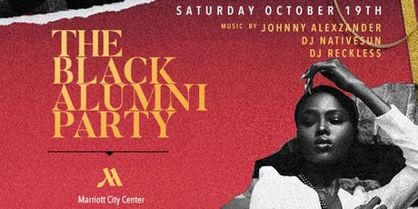 """LEGASZN"" -  The Black Alumni Party 
