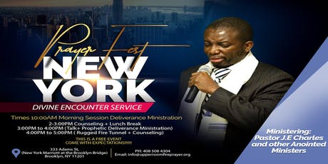PRAYERFEST DIVINE ENCOUNTER SERVICE IN NEW YORK tickets