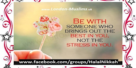 London Muslims Halal Nikah Introductory Meetup [Brothers Only ] tickets