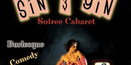 Sin & Gin Soiree Cabaret - Lights, Camera, Action! tickets