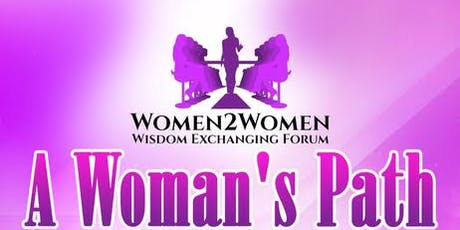 Women2Women - A Woman's Path tickets