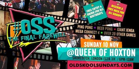 OSS: The Final Farewell + 4th Anniversary tickets