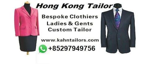 Hong Kong Tailor Trunk Tour London Kensington - Get Measured tickets