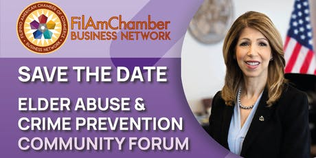 Elder Abuse & Crime Prevention Community Forum tickets