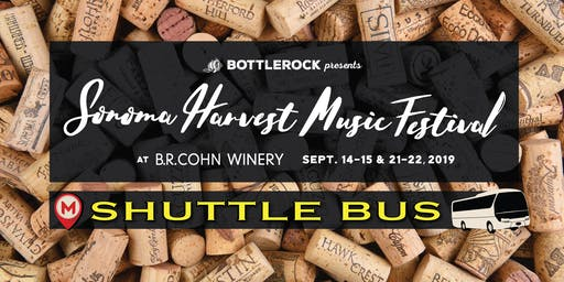 Sonoma Harvest Festival Shuttle Bus - Weekend 1