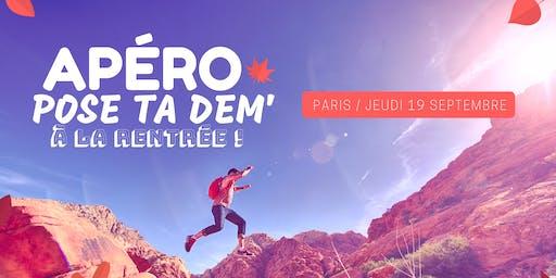 PARIS - Apéro Pose ta Dem' à la rentrée !