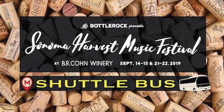 Sonoma Harvest Festival Shuttle Bus - Weekend 2 tickets