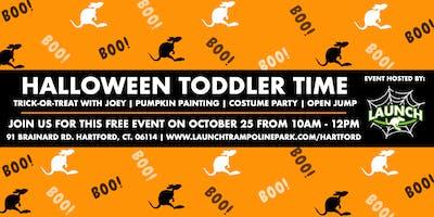 Halloween Toddler Time