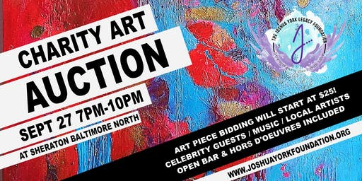 Charity Art Auction for Mental Health Awareness -