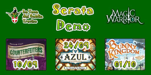 Serata Demo at Magic Warrior - Serata Gioco da Tavolo