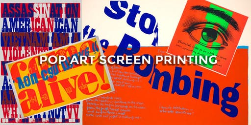 POP ART Screen Printing