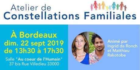 Atelier de Constellations Familiales à Bordeaux billets