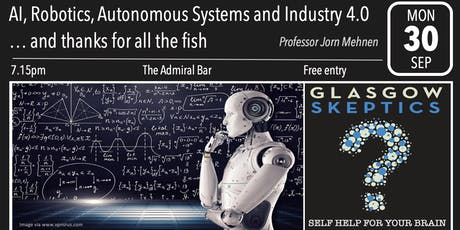 AI, Robotics, Autonomous Systems and Industry 4.0 tickets
