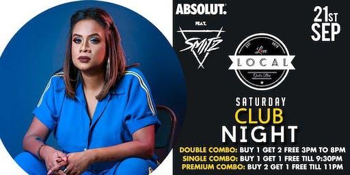 Saturday Club Night - Dj Smith