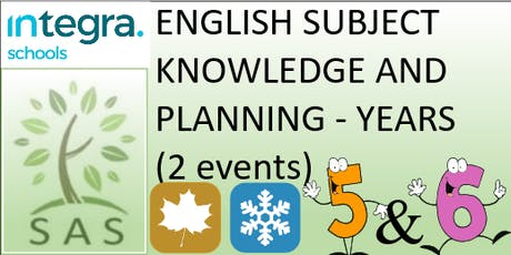 English - Subject Knowledge and Planning in Y5/6 (2 session