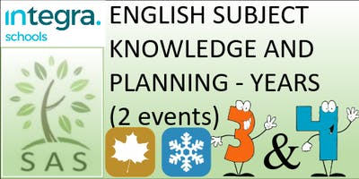 English - Subject Knowledge and Planning in Y3/4 (2 session course)