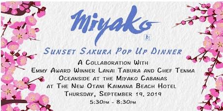 Sunset Sakura Pop Up Dinner tickets