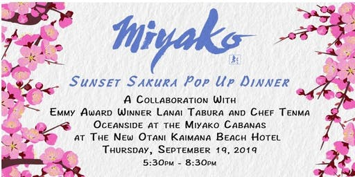 Sunset Sakura Pop Up Dinner
