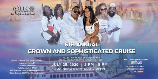 "Grown and Sophisticated ""All White"" Cruise 2020 Cincinnati Music Festival Weekend"
