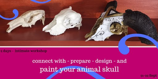 Painting on skulls workshop