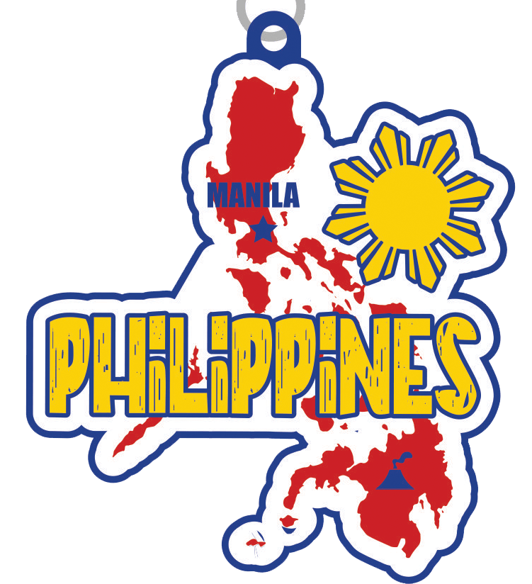 The Race Across the Philippines 5K 10K 13.1 26.2 -Chattanooga