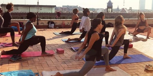 Yoga on the Roof