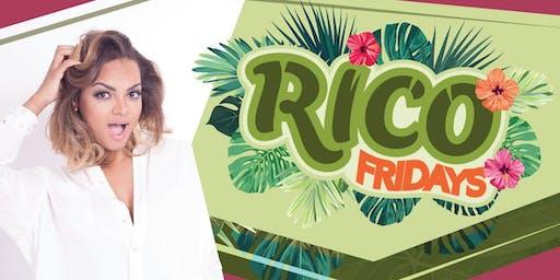 RICO Fridays- LIVE Bachata concert with Alejandra Feliz and band.