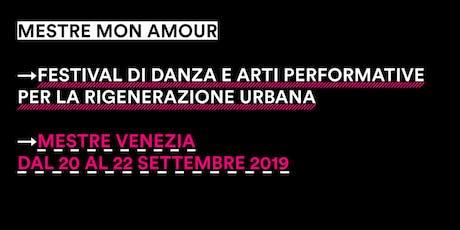 Masterclass Danza Contemporanea con Cristina Rizzo @MestreMonAmour Festival biglietti