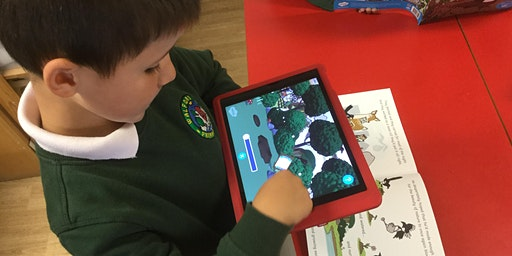 Inspiring Creative Reading and Writing using iPads  – Learning Walk