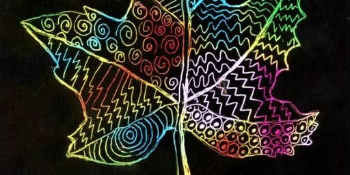 Open Studio: Fall Mandala & Scratch Art (all ages)