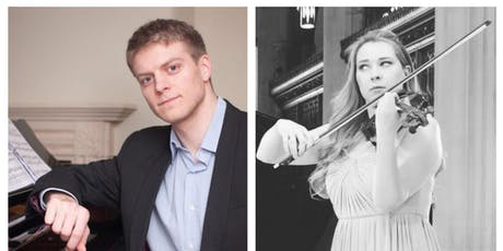 Anna Ovsyanikova/Chris Hotson - violin and piano recital tickets