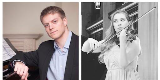 Anna Ovsyanikova/Chris Hotson - violin and piano recital