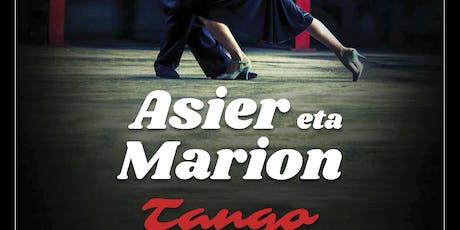 TANGO FESTIVAL. EL MILONGON. ASIER GALARDI & MARION tickets