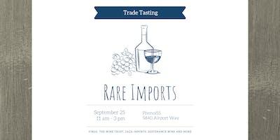 Rare Imports Trade Tasting