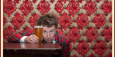 Anarchic wit from stand-up poet, BBC Radio 4 regular Elvis McGonagall  tickets