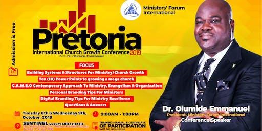 PRETORIA INTL CHURCH GROWTH CONFERENCE 2019