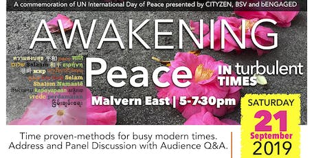 AWAKENING | Peace in Turbulent Times tickets