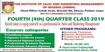 QUARTERLY TRAINING PROGRAMME