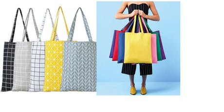 Sewing BeeS3! BYO sewing machine to make a sustainable shopper bag tickets